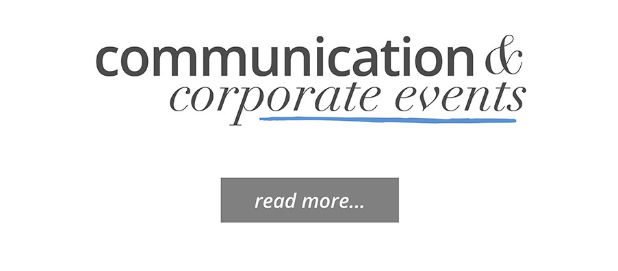 Communication & Corporate Events